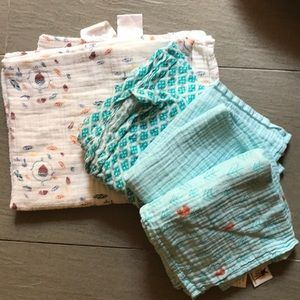 Aden & Anais and German swaddle cloths
